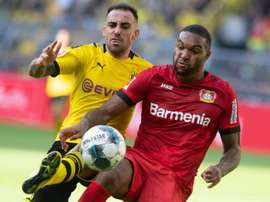 Alcacer, remplaçant à Barcelone, serial-buteur à Dortmund. AFP