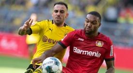 El Bayer encadena varios partidos sin ganar. AFP