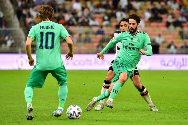 Il Real Madrid conquista la finale della Supercoppa. EFE