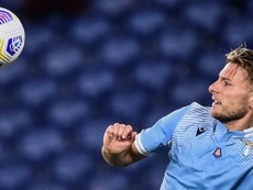 Italie: fin de quarantaine pour Ciro Immobile à la Lazio. AFP