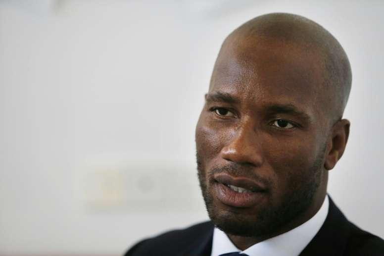 La candidature de Drogba à la présidence de la Fédération ivoirienne de football rejetée. AFP