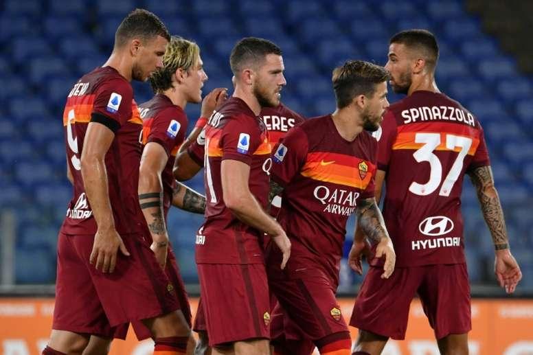 La Roma sous la menace d'une défaite sur tapis vert. afp