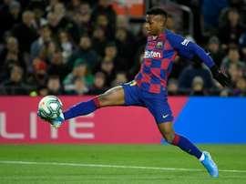 O United subirá a sua oferta por Ansu Fati. AFP
