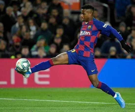 O Barça prepara uma blindagem milionária para Ansu Fati. AFP