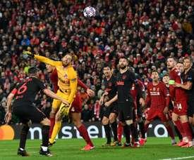 Altre critiche a Liverpool-Atletico Madrid. AFP