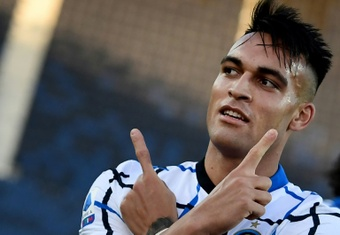 Lautaro's departure from Inter is closer than ever. AFP