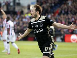 Daley Blind is an option for Atletico Madrid. AFP