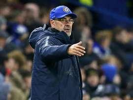 Chelsea, Maurizio Sarri. AFP