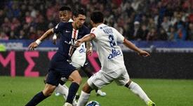 PSG - Lyon: onzes iniciais confirmados. AFP