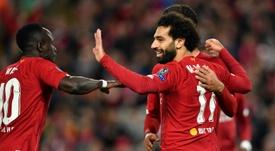 Liverpool a gagné face à Salzbourg. AFP