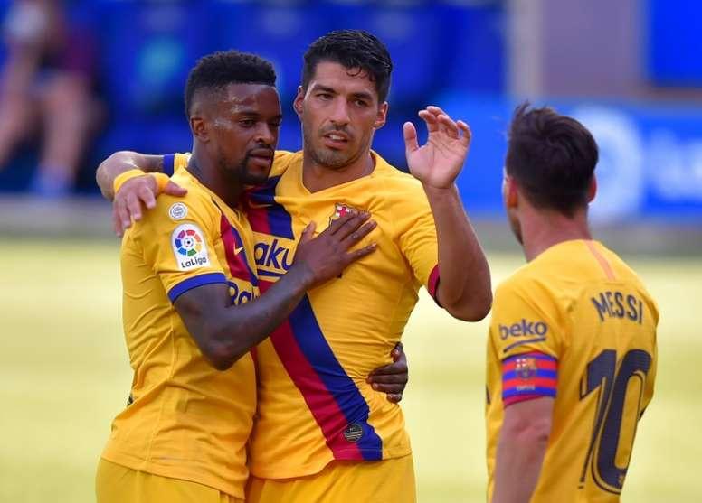 Semedo will sign a renewal at Barca. AFP