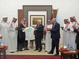 Foot: jouer en Cisjordanie occupée? Pas un dilemme pour des fans saoudiens. AFP