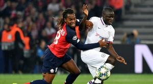 Les compos probables du match de Ligue des champions entre Chelsea et Lille. AFP