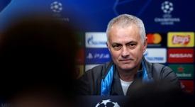 José Mourinho falou com a imprensa após derrota por 3 a 0 e eliminação na Champions. AFP