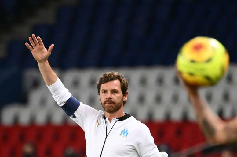 Villas-Boas analyse le match nul. AFP