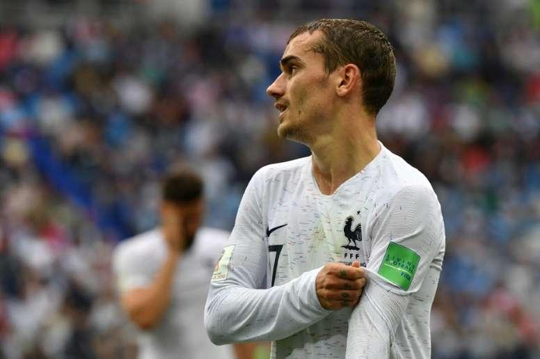 Griezmann ha participado en la mitad de los goles 'bleus' en el Mundial. AFP