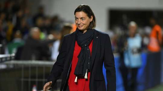 Diacre, négative à la Covid, retrouve l'équipe de France avant l'Autriche. AFP