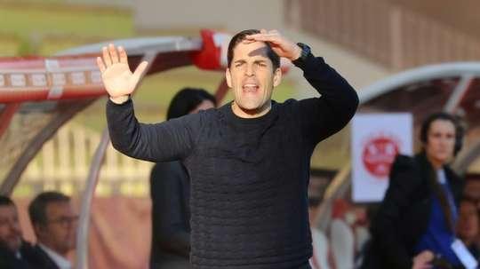 Robert Moreno analyse les matches de Monaco face au PSG. AFP