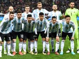 L'Argentine en Israël. AFP
