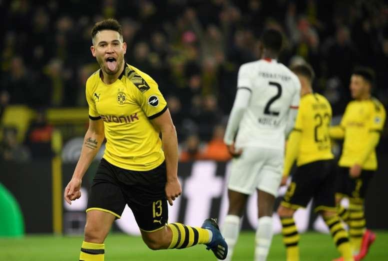 Raphaël Guerreiro vai se destacando na Alemanha. AFP