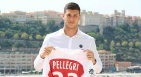 Pietro Pellegri podría formar parte del traspaso de André Silva al Mónaco. AFP/Archivo