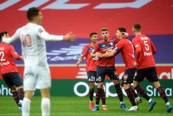Tiago Djalo et Xeka suspendus pour la reprise de la Ligue 1. afp