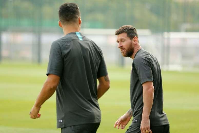 Leo Messi is 100% fit. AFP