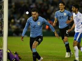 L'Uruguay arrive serein en Russie. AFP