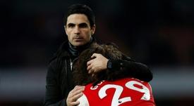 Guendouzi podría irse del Arsenal. AFP