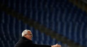 L'entraîneur de l'AS Rome Claudio Ranieri lors du match face à la Juventus. AFP