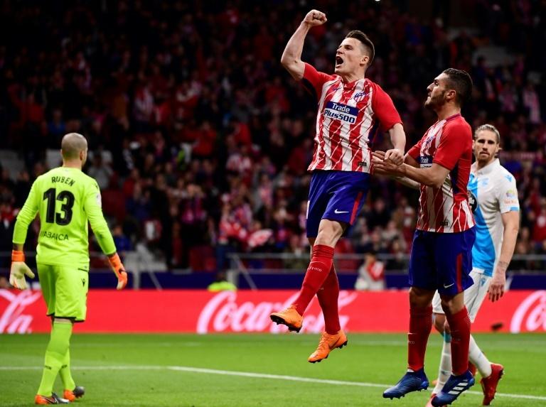 L'Atlético et Griezmann croquent Levante — Liga