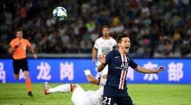 El presidente del Athletic aseguró que Ander sería una opción ilusionante. AFP