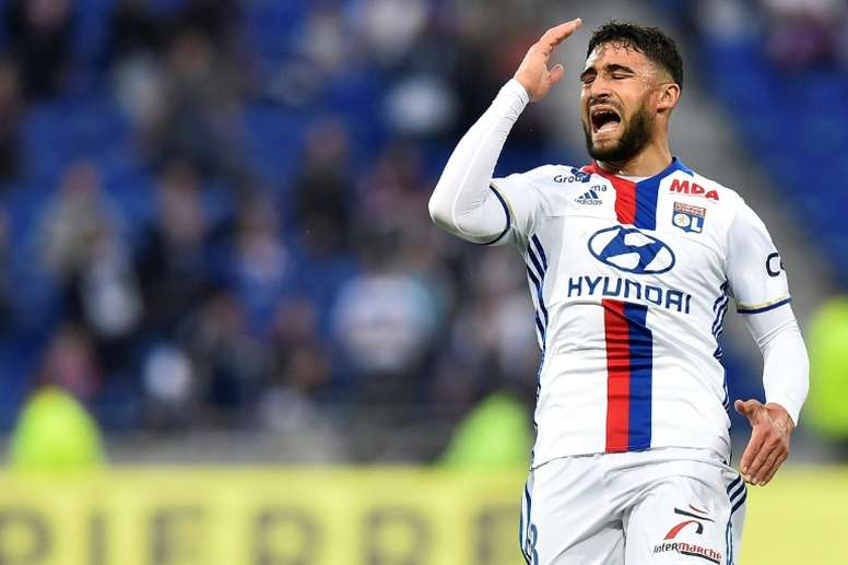 Nabil Fekir's brother earns first professional contract at Lyon. AFP