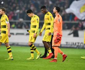 O Borussia Dortmund já disse adeus à Champions. AFP
