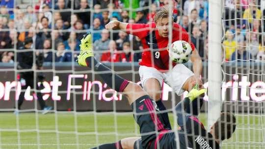 Soederlund quitte Saint-Étienne. AFP