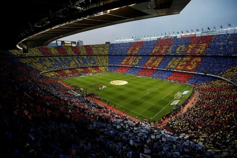 Les capitaines du Barca préfèrent jouer au Camp Nou. afp