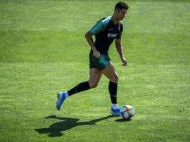Cristiano Ronaldo pode garantir sua passagem para a sua quinta Eurocopa. AFP