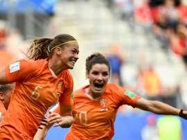 Les Pays-Bas l'emportent devant le Canada. AFP