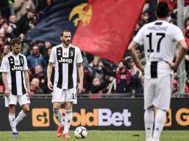 Juventus - Genoa: onzes iniciais confirmados. AFP