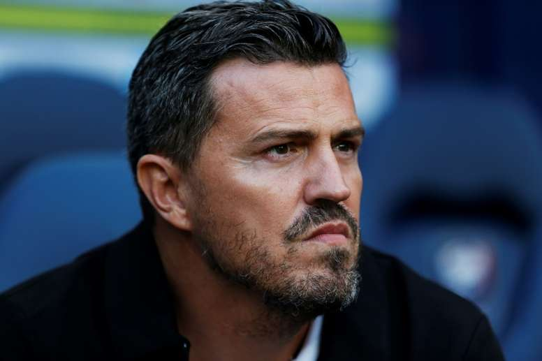 Óscar García destacó la actuación de Messi. AFP