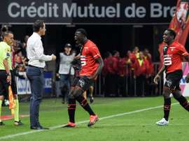Niang a marqué face à Paris. AFP