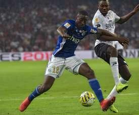 Newcastle suit de près Ibrahima Sissoko. AFP