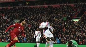 Salah brilló y Firmino hizo historia. AFP
