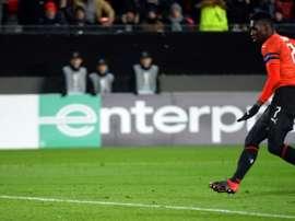 Sarr et Rennes vont connaitre l'Europe. AFP