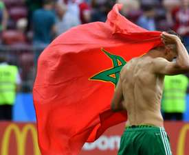 Le Maroc a eu chaud. AFP