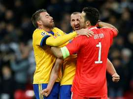 Buffon and Chiellini are very close to renewing their Juventus contracts. AFP