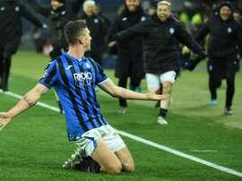 Robin Gosens, lateral-esquerdo que interessa à Juventus. AFP