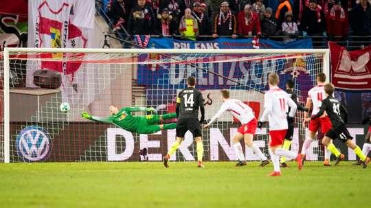 El Köln remontó un resultado adverso. AFP