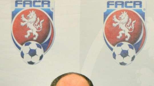 Le président démissionnaire de la Fédération tchèque de football Miroslav Pelta. AFP