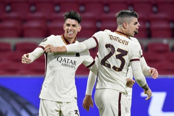 Roma came from behind to win 1-2 at Ajax in the Europa League. AFP